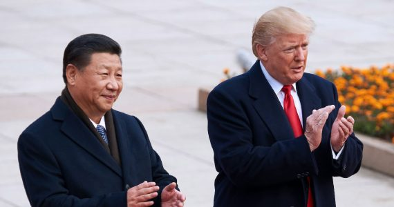 Donald Trump y Xi Jinping | Foto: Getty Images