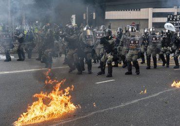 Enfrentamiento en Hong Kong | Foto: Getty Images