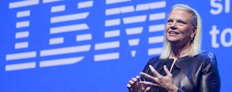 Ginni Rometty, CEO de IBM | Foto: Getty Images