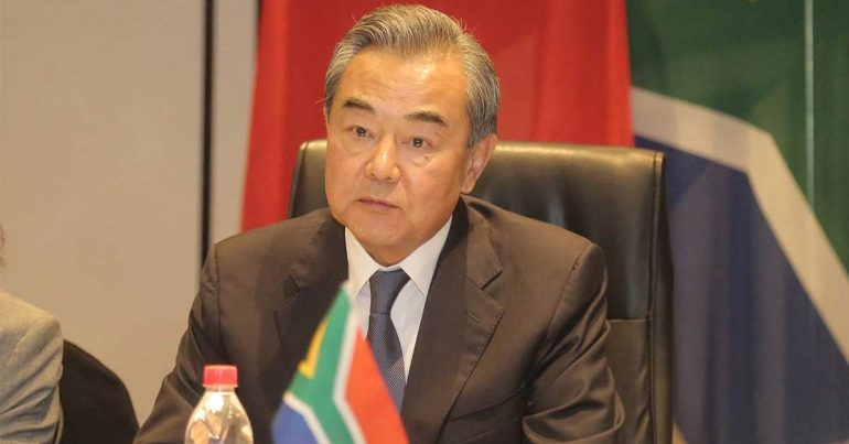 Wang Yi, ministro de Relaciones Exteriores de China | Foto: Getty Images