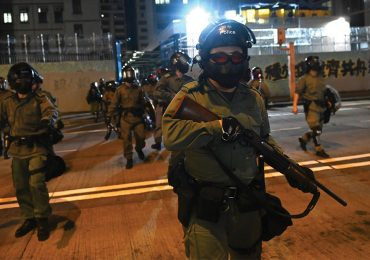 Policia en manifestaciones de Hong Kong | Foto: Getty Images