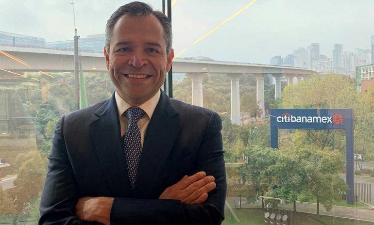 Manuel Romo, director general de Citibanamex   Foto: cortesía Citibanamex