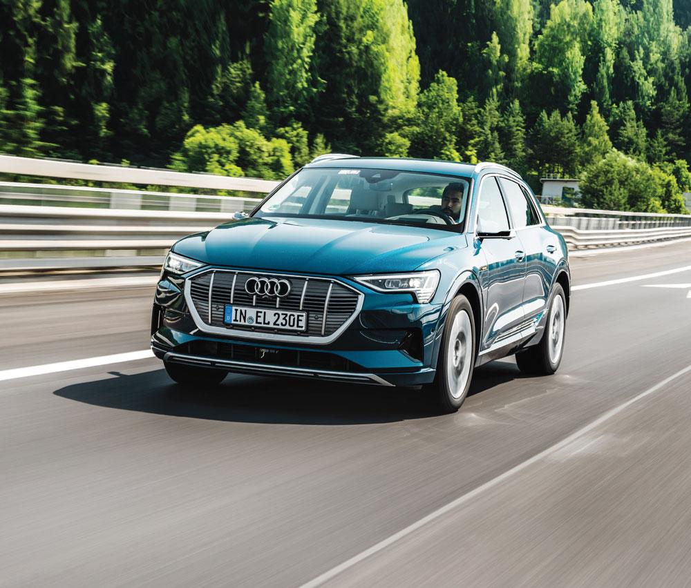Audi E-Tron | Foto: Archivo Fortune
