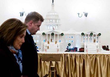 Nancy Pelosi, presidenta de la Cámara de Representantes   Foto: Getty Images