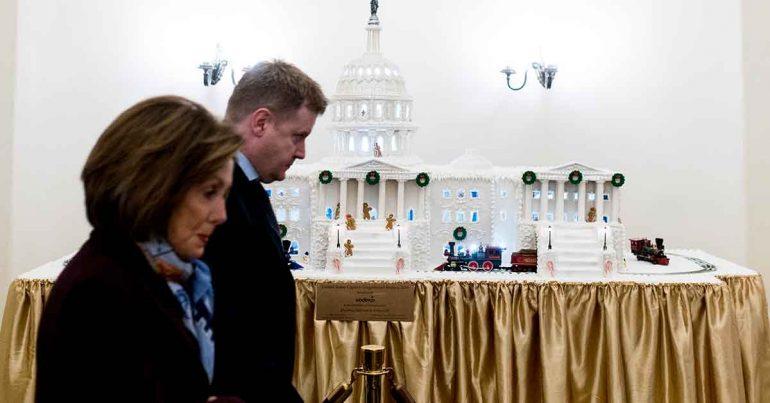 Nancy Pelosi, presidenta de la Cámara de Representantes | Foto: Getty Images