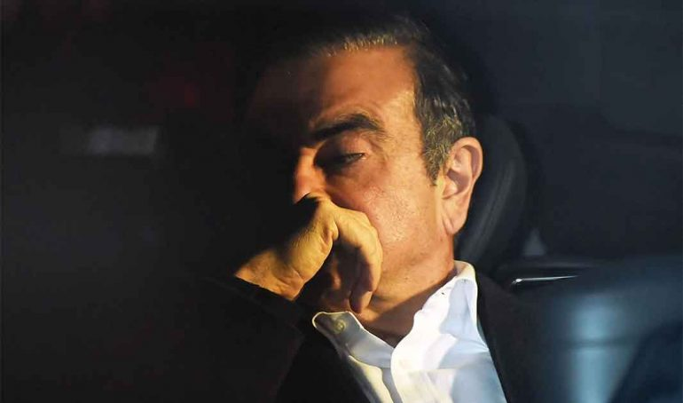 Carlos Ghosn, exCEO de Renault y Nissan | Foto: Getty Images