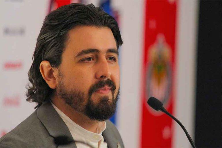 Amaury Vergara, presidente de Grupo Omnilife Chivas