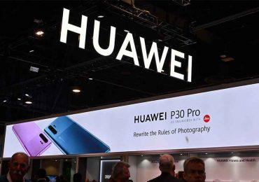 Huawei en el CES 2020 | Foto: AFP