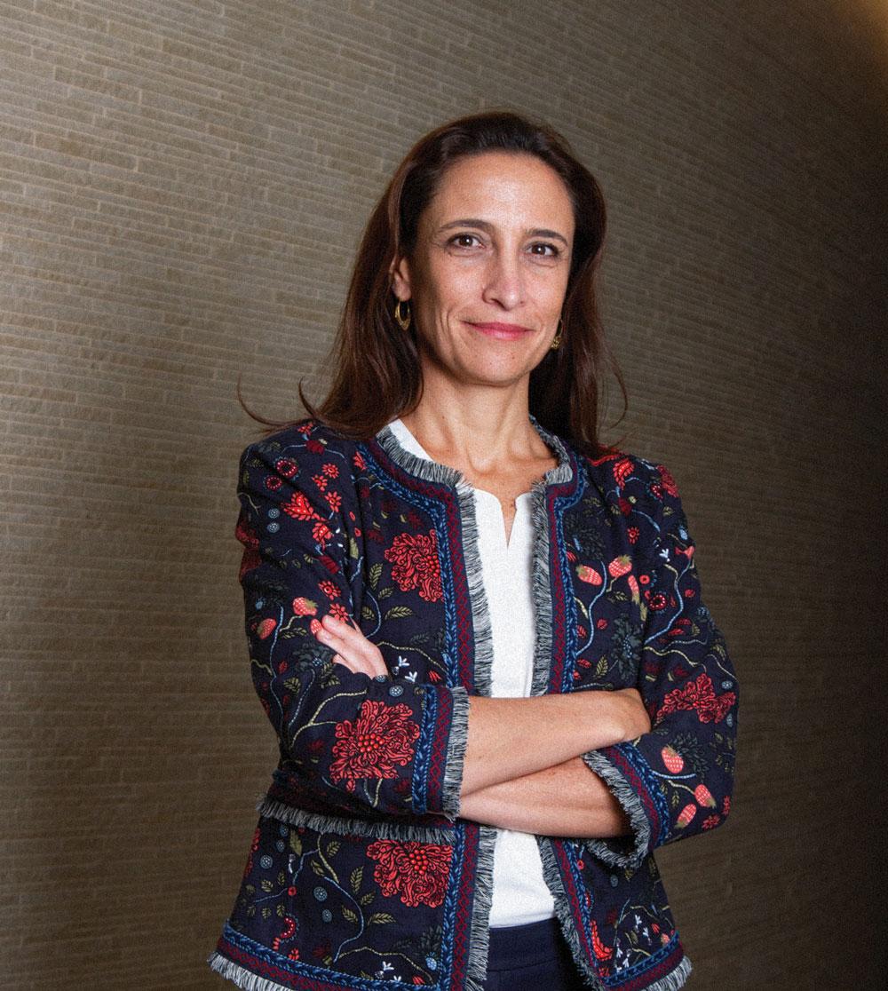 IEnova tiene una cartera diversificada de clientes que la cubre en tiempos difíciles, revela Tania Ortiz Mena. | Foto: Gabriel González