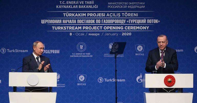 Vladimir Putin, presidente de Rusia y Recep Tayyip Erdogan, presidente de Turquía | Foto: Getty Images