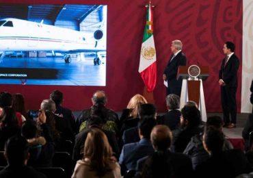 Anuncio del regreso del avión presidencial a México | Foto: Presidencia