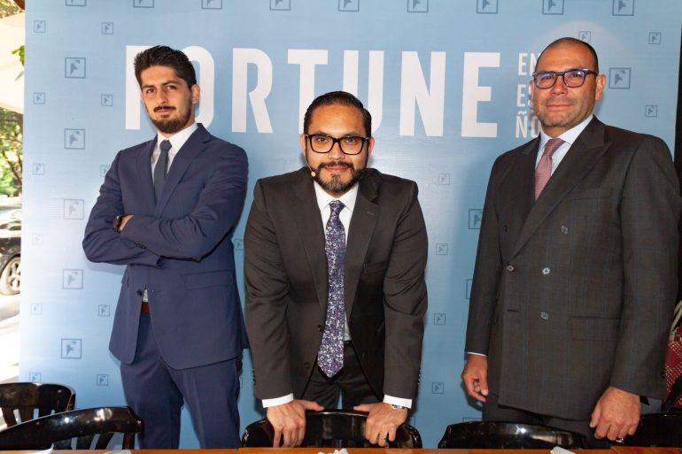 (De izquierda a derecha) Misael Perea, Ariel Almazán y Héctor González |Foto: Gabriel González