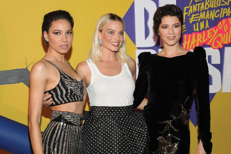 Izquierda: Jurnee Smollett Bell, centro: Margot Robbie, derecha: Mary Elizabeth Winstead | Foto: Getty Images
