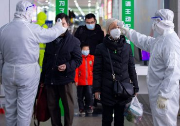 Filtro en China por el coronavirus. | Foto: AFP