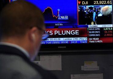 Wall Street suspendió 15 minutos este lunes | Foto: AFP