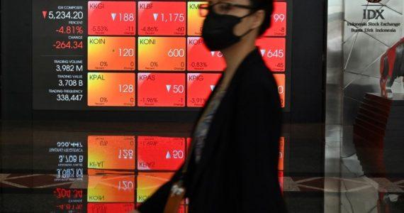 Mercados mundiales. | Foto: AFP
