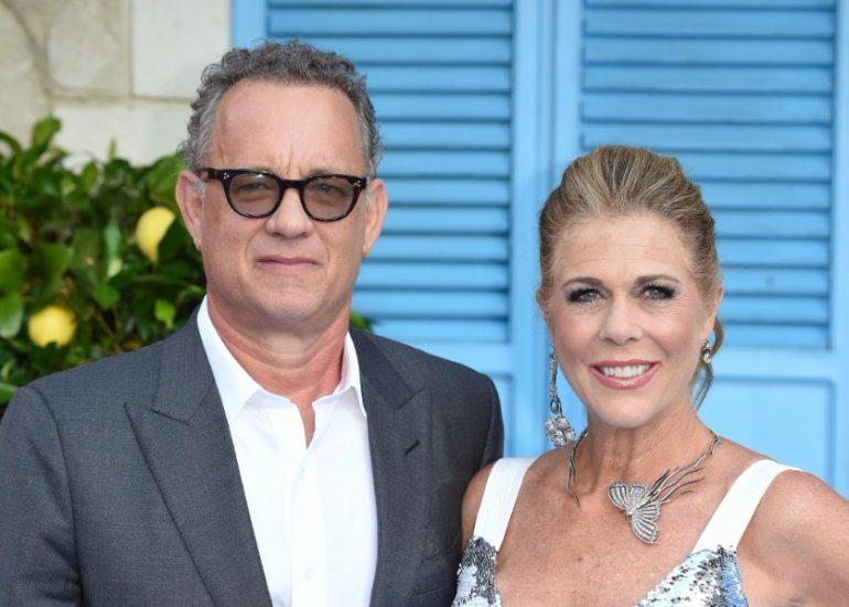 Tom Hanks y su esposa Rita Wilson | Foto: AFP