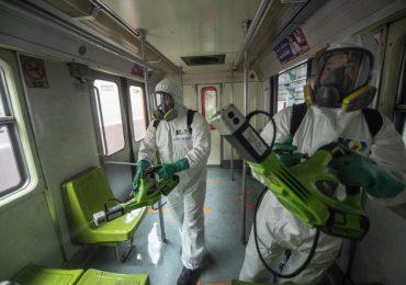 Medidas sanitarias por el coronavirus en México | Foto: AFP