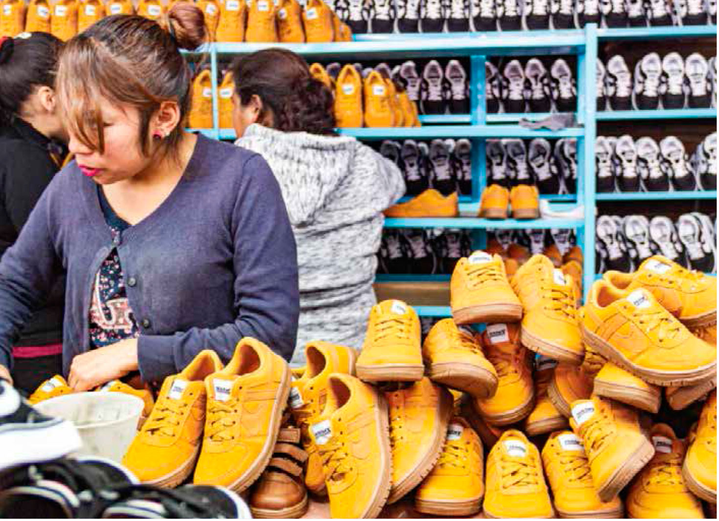 Mujeres constituyen 80% de la fuerza productiva de Panam. | Foto:Gabriel González