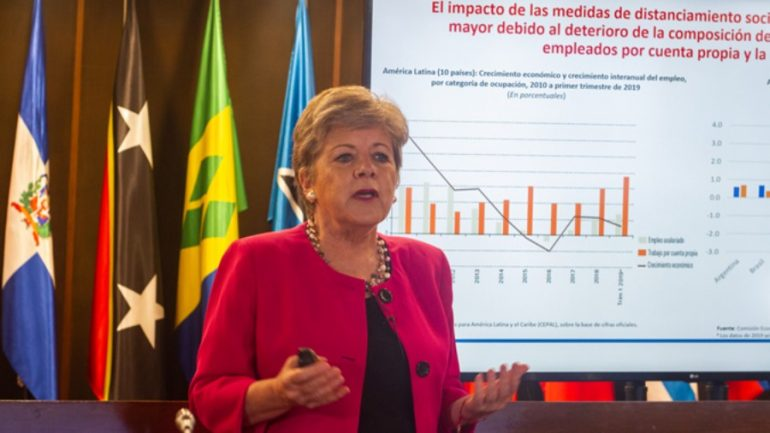 Alicia Bárcena, secretaria ejecutiva del organismo | Foto: Cepal