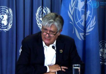 Antonio Molpeceres, coordinador residente de las Naciones Unidas en México. | Foto: @CINUMéxico