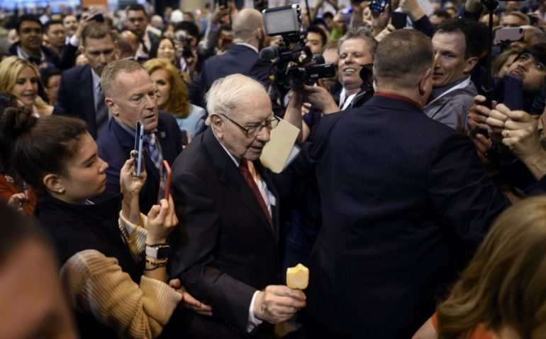 Warren Buffett, CEO de Berkshire Hathaway. | Foto: AFP
