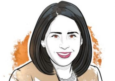 Claudia Márquez, presidenta de Chemours México | Ilustración: Alejandro Klamroth Bermúdez