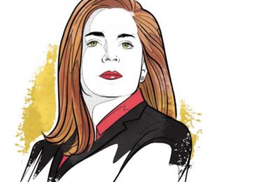 Mónica Flores, CEO de ManpowerGroup Latinoamérica | Ilustración: Alejandro Klamroth Bermúdez