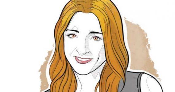 María Ariza, directora de BIVA | Ilustración: Alejandro Klamroth Bermúdez