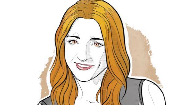 María Ariza, directora de BIVA   Ilustración: Alejandro Klamroth Bermúdez