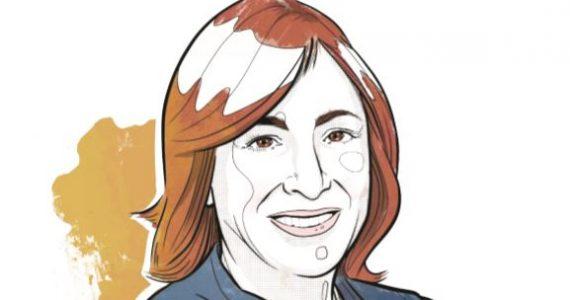 Paula Santilli, CEO de Pepsico Latinoamérica | Ilustración: Alejandro Klamroth Bermúdez