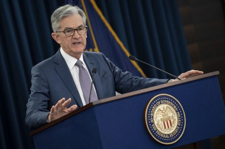 Jerome Powell, presidente de la Fed. | Foto: AFP