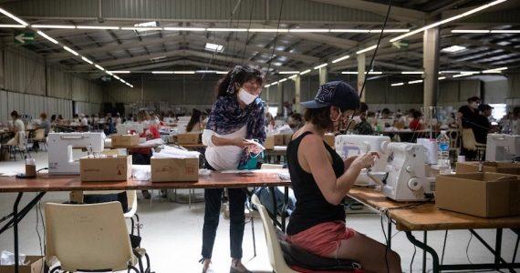 La producción industrial en Alemania cayó 21% en abril. | Foto: AFP