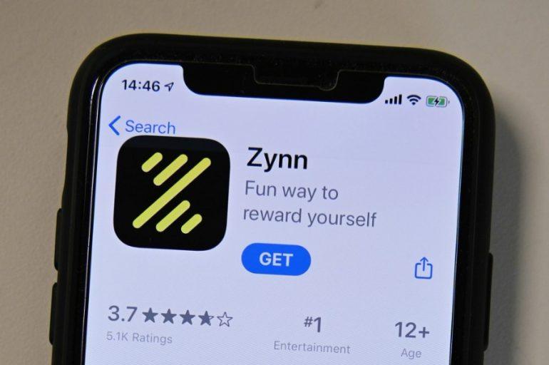 Ver videos en Zynn también permite obtener puntos, que luego se pueden convertir en dinero. | Foto: AFP