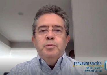 Fernando Sentíes, presidente de AMITAI, explica la metodología para la elaboración del ranking. Foto: Fortune en Español.