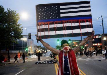 EU vive numerosas protestas por la brutalidad policiaca racista. | Foto: AFP